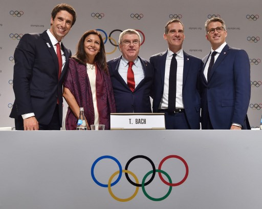 Paris awarded 2024 Olympics, Los Angeles gets 2028 Games: IOC