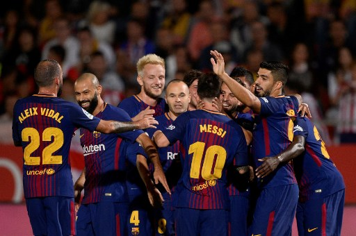 Barcelona coach upbeat on winning streak