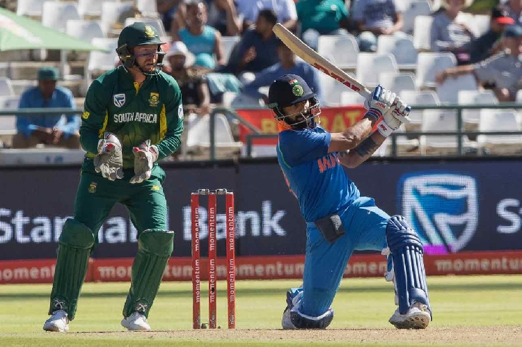 Live Cricket Score, India vs South Africa, 3rd ODI at Cape Town